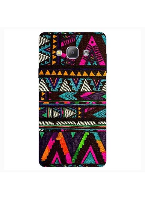People's Cover Samsung A7 Kabartmalı Kapak Renkli